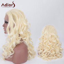 Adiors Long Fluffy Wavy Synthetic Lace Front Wig