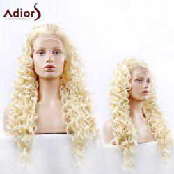 Adiors Long Fluffy Curly Synthetic Lace Front Wig