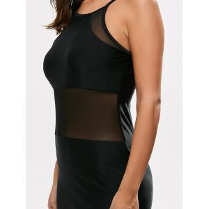 Строка сетки Cut Out Swim платье -