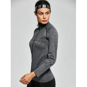 Quick Dry Zipper Work Out Running Jacket -