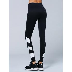 Arrow Print Gym Leggings -