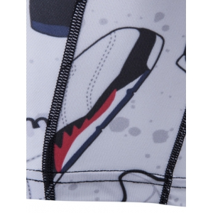 Cuissard impression chaussures -