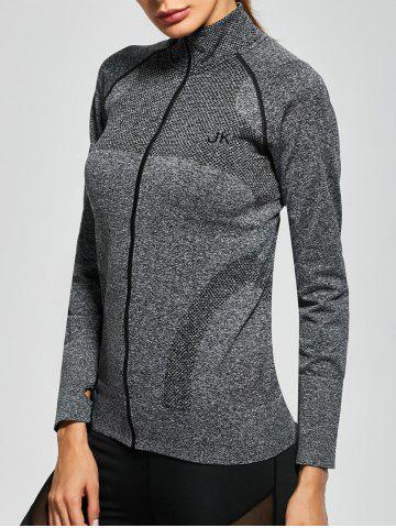 Fashion Quick Dry Zipper Work Out Running Jacket
