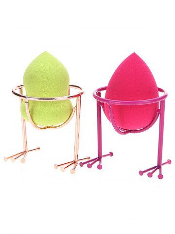 2 Pcs Beauty Blender Séchoir Multicolore