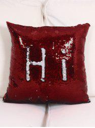 Best Gift DIY Two Tone Glitter Sequins Pillow Case