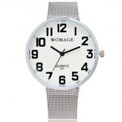 Stainless Steel Quartz Wrist Watch