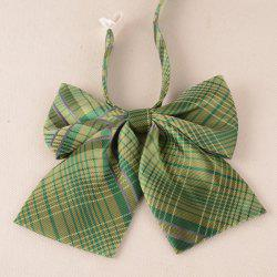 Plaid Adjustable Bow Tie
