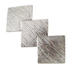 Hair Clip with Small Square Floor Tile