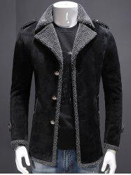 Fleece Lined Jacket with Epaulet