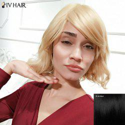 Siv Hair Short Curly Bob Side Parting Human Hair Wig