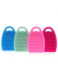 4 Pcs Silicone Brush Eggs - Multicolore