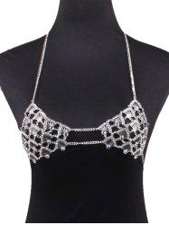Alloy Bra Beach Body Jewelry - SILVER