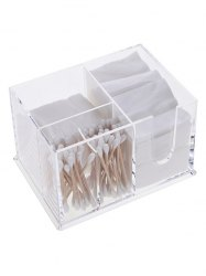 Desktop Makeup Storage Makeup Organizer - TRANSPARENT