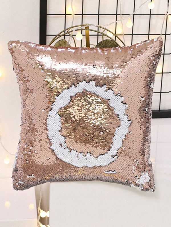 Store Double Color Glitter Sequins DIY Home Decor Pillowcase