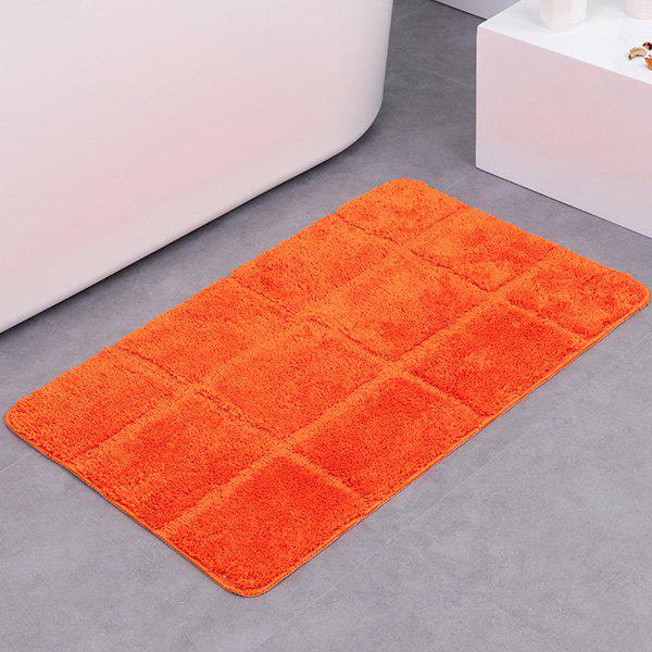 Gingham Rug: 2019 Gingham Plaid Skidproof Water Absorbent Rug