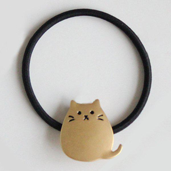 New Elastic Hairband with Cartoon Fat Cat