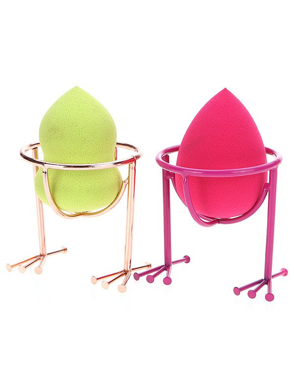 Latest 2 Pcs Makeup Sponge Holder Drying Stand