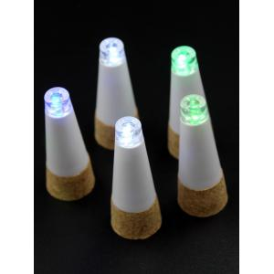 Wine Stopper Shape Colorful Ombre LED Night Light -