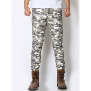 Pockets Design Camo Minitary Cargo Pants