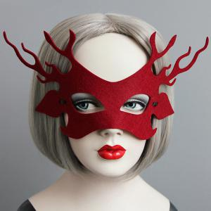 Lacing Party Mask - Red