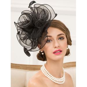 Fascinator Hairband Organza Floral Hat