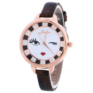Rhinestone Cartoon Quartz Watch