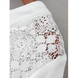 Lace Panel Blouse -