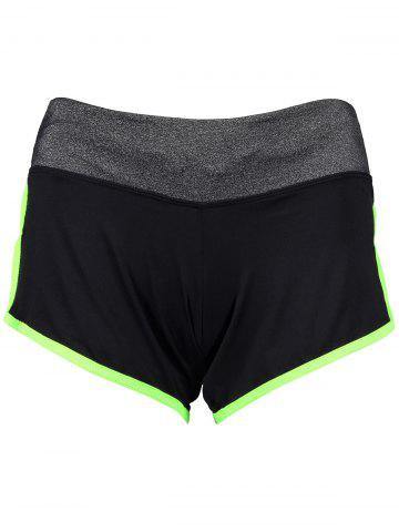 Fashion Piped Running Shorts