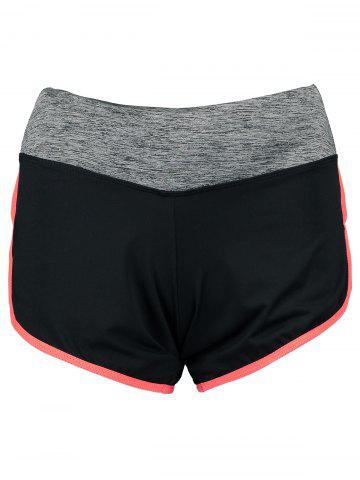 Unique Piped Running Shorts