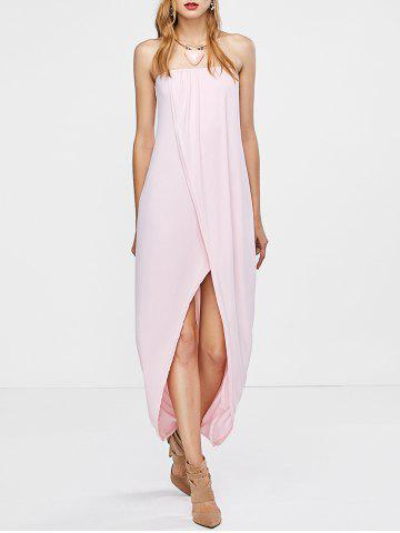 Best Open Back Strapless Dress - S PINK Mobile