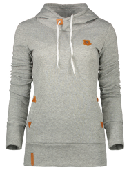 Badge Patch High Neck Hoodie -