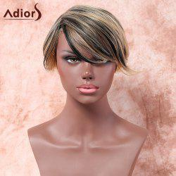 Adiors Short Side Parting Colormix Straight Synthetic Wig