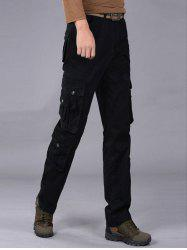 Multi Pockets Zipper Fly Cargo Pants