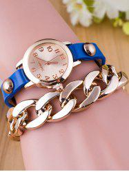 Chain Quartz Bracelet Watch