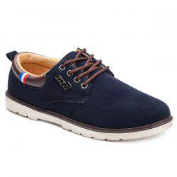 Suede Faux Leather Casual Shoes
