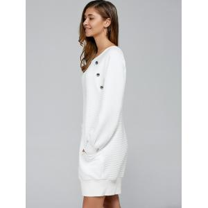 Shift Long Sleeve Mini Dress -