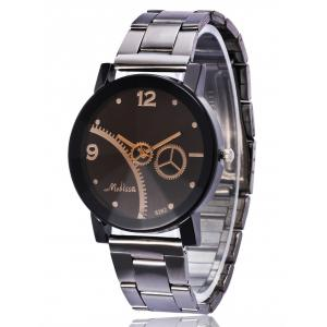 Gear Stainless Steel Band Vintage Watch -
