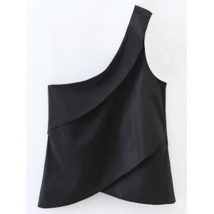 Layered One Shoulder Tank Top