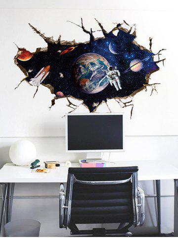New Removable 3D Space Astronaut Bedroom Wall Sticker