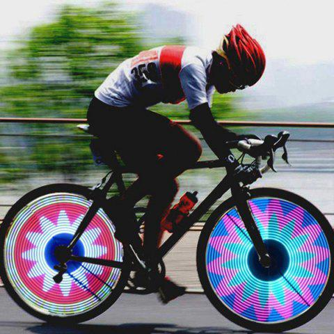 Outfit Tyre Patterns LED Bicycle Wheel Light - TRANSPARENT  Mobile
