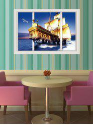 Creative Removable 3D Sailing Wall Sticker