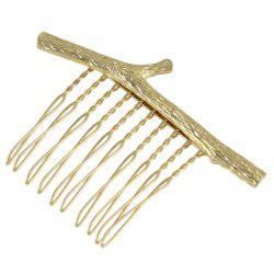 Branch Shape Alloy Hair Comb