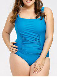 Backless Plus Size One Piece Swimwear