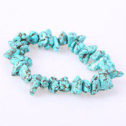 Artificial Turquoise Strand Bracelet