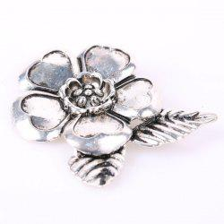 Flower Tree Leaf Brooch