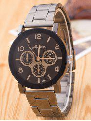 Alloy Numerals Mechanical Design Chronograph Watch