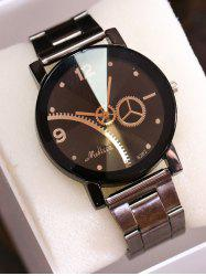 Gear Stainless Steel Band Vintage Watch