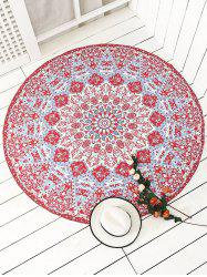 Indian Round Printed Mandala Beach Throw