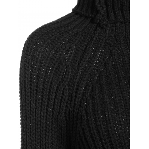 Turtleneck Knit Jumper Sweater -