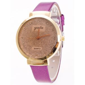 Rhinestone Glitter Quartz Watch